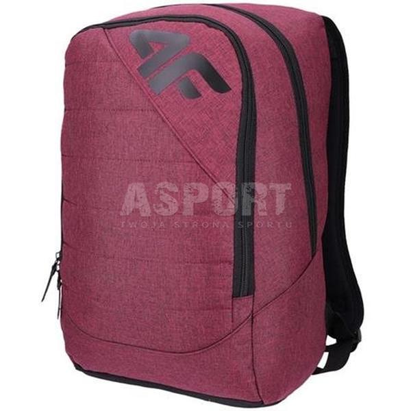 4b8bc6eb070cf Plecak szkolny, miejski, sportowy 20L HZ418-PCU003 bordowy 4F ...
