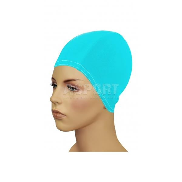 Czepek z lycry, na długie włosy BATHING CAP FOR LONG HAIR turkusowy Gwinner