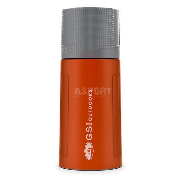 Termos ze stali nierdzewnej  GLACIER STAINLESS 500ml VACUUM BOTTLE orange GSI
