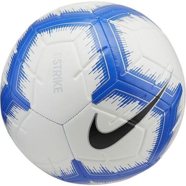 22aeef9488511 Piłka nożna Nike Strike biało-niebieska r.4 | Sklep Asport.pl