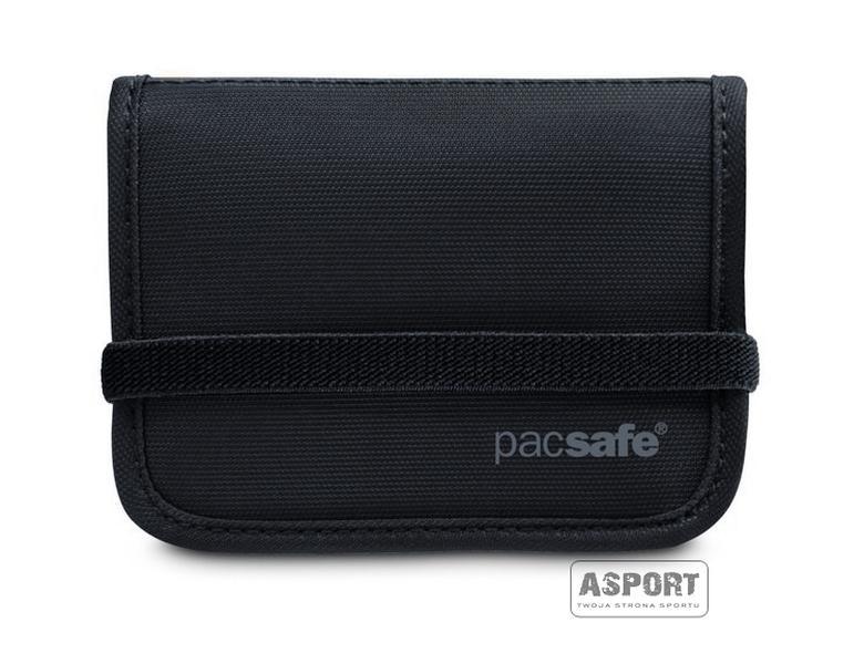 9e9cbd22da756 Bezpieczny portfel składany z ochroną kart kredytowych RFIDtec 50 Pacsafe